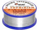 LC60-1.2/0.1 FLUDOR CYNEL 1.2MM 100G NO CLEAN